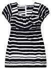 Ladies Stripe T Shirt New Womens Curve Plus Size Tunic Tee Top UK 16 - 32