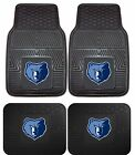 Memphis Grizzlies Heavy Duty Floor Mats 2 & 4 pc Sets for Car Trucks and SUVs on eBay