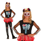 Rubies Voodoo Soiree Kids Scared To The Bone Girls Halloween Fancy Dress Costume