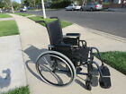 KI mobility catalyst manual folding lightweight wheelchair w removeable wheels