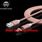 US STOCK Magnetic Fast Charging Data Charger Cable For iPhone 5s/SE/6/6s/ 7 Plus