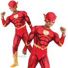 Childrens Deluxe The Flash Costume Rubies Official DC Comics Fancy Dress Outfit