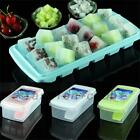 Home 18 Cell Ice Cube Square Tray Mold Jelly Candy Frozen Maker DIY