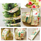 10 m/ 10.94 yd.XMAS Ribbon Band DIY Sewing Hair Bow Christmas Tree Decoration