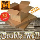 "12x12x12"" DOUBLE WALL Cardboard Storage Boxes 24HRS"