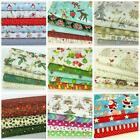New Christmas fat quarter bundles 100% cotton fabric for craft/ sewing FREEPOST