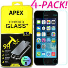 4X New Premium Tempered Glass Film Screen Protector for Apple iPhone 7