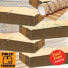 NEW DOUBLE WALL CARDBOARD BOXES FOR REMOVAL POSTAL MAILING SHIPPING + FREE TAPE