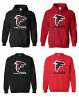 Atlanta Falcons Logo Mens Pullover Hooded / Crewneck Sweatshirt Sizes S - 5XL