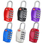 New TSA Security 4 Combination Travel Suitcase Luggage Bag Code Lock Padlock