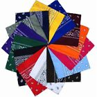 Hip Hop Paisley Bandana Headwear Scarf Neck Wrist Wrap Band Headtie Square