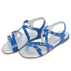 Girls Gladiator Summer  Buckle Ankle Straps Comfort Sandals