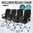 Swivel PU Leather Mesh Office Racing Gaming Style Tilt Computer Desk Chair
