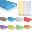 0.3mm Ultra Thin Clear Matte Back Plastic Case Cover Skin For iPhone 5 5G 5Gs 5S
