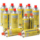 BUTANE GAS CANISTERS BOTTLE CAMPING PORTABLE GRILL HEATER COOKER STOVES BBQ NEW