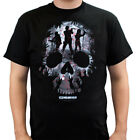 The Walking Dead Heroes Skull Montage Adult T-Shirt