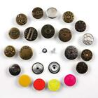 JEAN STUD 17mm & 20mm BUTTONS *21 TYPES* REPLACEMENT HAMMER ON STUD UK SELLER