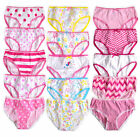 Girls Briefs New Kids Multipack Printed Knickers Cotton 5 Pack Pants 2 - 13 Yrs
