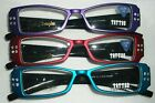 TEAL TATTOO PANTHER RHINESTONE READING GLASSES READERS SEXY ELEGANT PERFECT