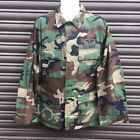 US ARMY SURPLUS ISSUE RIPSTOP WOODLAND CAMO G1 COMBAT JACKET,MARSOC NAVY SEALS