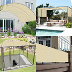 Customize Straight Edge Waterproof Sun Shade Sail UV Blocker Patio Pool Cover 6'