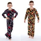Girls/Boys Childrens Fleece All In One with Hood / Pyjamas Age 7-13 Years NEW