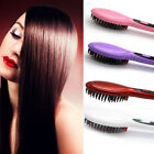 Hot Electric Hair Straightener Comb Iron Brush Auto Fast Hair Massager Tool