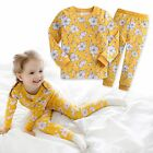 "Vaenait Baby Toddler Kids Girls Clothes Floral Pyjama Set ""Yellow Bloom"" 12M-7T"
