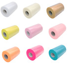 "TUTU TULLE ROLL - 6"" Wide x 25 yrds - Craft Fabric Soft 100% Nylon Netting"
