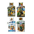 LEGO Bettwäsche Friends,City,Ninjago,Heroes 135x200 Kinderbettwäsche Set 2803