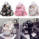Women Floral Backpack Travel PU Leather Handbag Rucksack Shoulder School Bag New