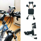 Fashion Universal Bicycle Ride ABS Silicone Holder Stand Mount For Cell Phone