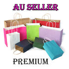 bulk 10 100pcs kraft paper bag gift carry shopping bags wedding party gift bags