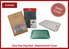SNOOZA FLEA FREE DOG BED COVER, IMPROVED DESIGN, WASHABLE - SMALL