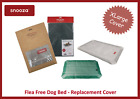 SNOOZA FLEA FREE DOG BED COVER, IMPROVED DESIGN, WASHABLE - EXTRA LARGE