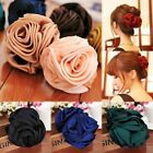 Fashion Hair Claws Charming Women Beauty Ribbon Rose Flower Butterfly Hair Clips