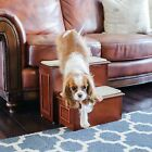 Gen7Pets Deluxe Carpeted 2 Step with hide-away storage in Cherry or Espresso
