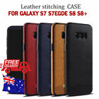 GALAXY S7, S7 EDGE, S8, S8+ Luxury Case Leather Soft Case Mikki Back Cover !