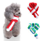 Warm Fuzzy Dog Christmas Soft Color Block Scarf Pet Puppy Neck Accessory A