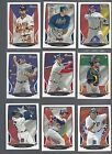 2013 BOWMAN - BASE HOMETOWN FLAG PARALLELS  - WHO DO YOU NEED!!!