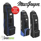 New MacGegor VIP Deluxe Wheeled Zip Storage Padded Golf Bag Flight Travel Cover