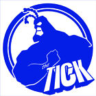 The Tick sticker VINYL DECAL Sci-Fi Fantasy Comedy Super Hero Crime Fighter