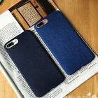 """For Iphone 6/6s 4.7"""" Cover Case Shockproof Soft Denim & TPU Back Skin Protective"""