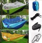 Sports Outdoors Camping Sleeping Hammock with Mosquito Net Comfortable