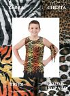 Welcome To The Jungle Dance Costume Tank Top Guys Animal Print Arm Tie Clearance