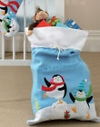 Cute Babys 1st Christmas Sack with Penguin Design, Length 69cm