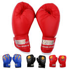 Age 3-12 Children Kids FIRE Boxing Gloves Sparring Punching Fight Training