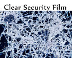 "Transparent 8 Mil 36"" x10ft or 20' Safety Security Window Film Roll Home Glass"