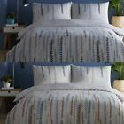 'Aviano' Duvet Covers Modern Vine Print Easy Care Cotton Blend Bedding Set