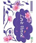 Wall Deco Sticker LOVE HOUSE 151-EC007 - S $8.5 USD on eBay